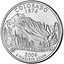 Colorado State Quarter - Back